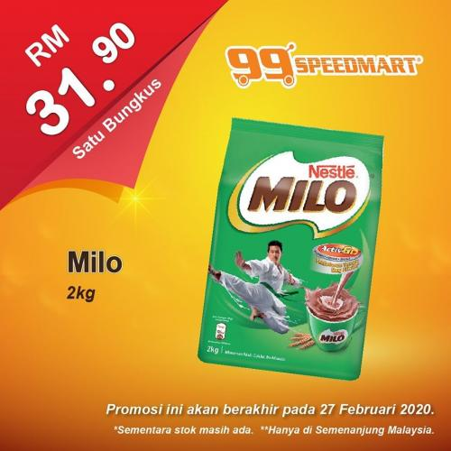 99 Speedmart Promotion (valid until 27 February 2020)