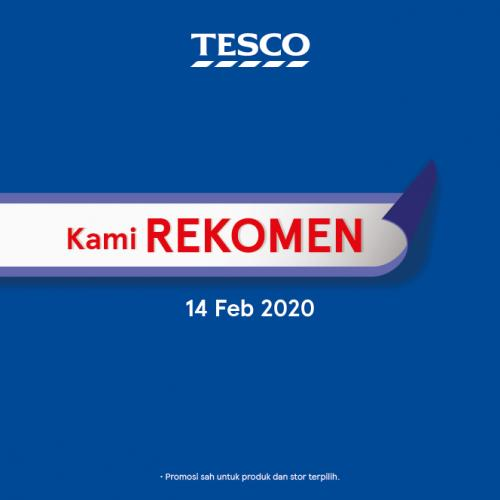 Tesco REKOMEN Promotion published on 14 February 2020