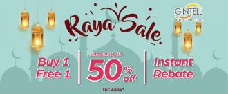 Gintell Raya Sale up to 50% OFF