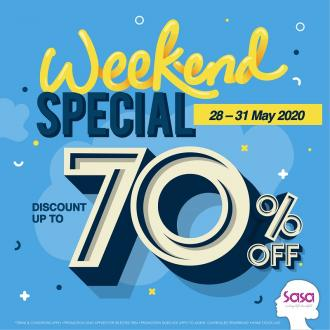 Sasa Weekend Sale Discount Up To 70% OFF (28 May 2020 - 31 May 2020)