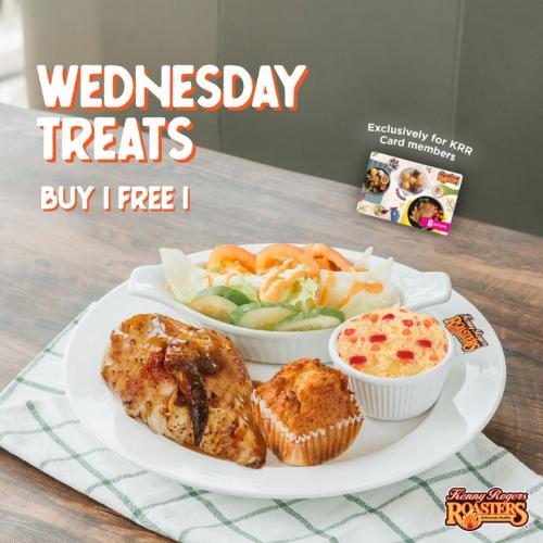 Kenny Rogers ROASTERS Wednesday Buy 1 FREE 1 Promotion (17 ...