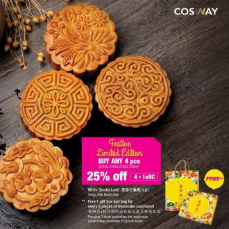 Cosway Mooncake 25% OFF Promotion