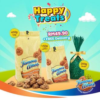 Famous Amos Online Happy Treats Promotion (25 July 2020 - 2 August 2020)