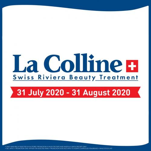 SaSa La Colline Sale (31 July 2020 - 31 August 2020)
