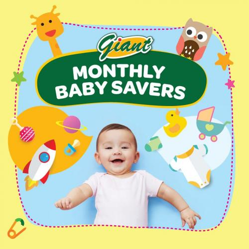 Giant Monthly Baby Savers Promotion (1 August 2020 - 31 August 2020)