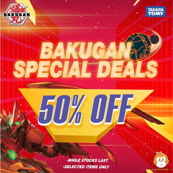 Mighty Utan Stock Take Clearance Sale from 20% to 80% OFF (31 July 2020 - 9 August 2020)