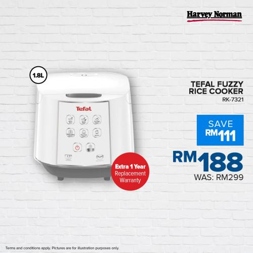 Harvey Norman Tefal Cooking Essentials Promotion Save Up To RM615 (valid until 20 September 2020)