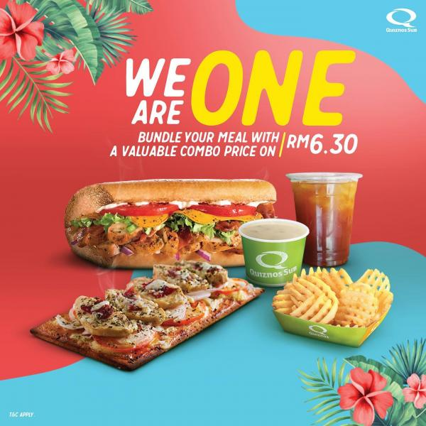 Quiznos Sub Malaysia Day Combo Promotion