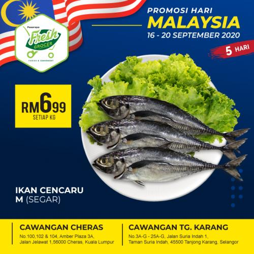 Fresh Grocer Malaysia Day Promotion (16 September 2020 - 20 September 2020)
