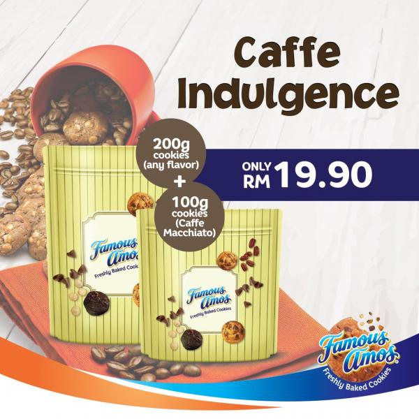 Famous Amos Caffe Indulgence Cookies Promotion (17 September 2020 - 24 October 2020)