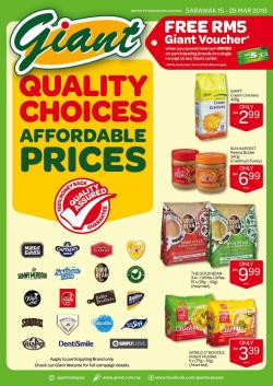 Giant Sarawak Promotion Catalogue (15 March 2018 - 28 March 2018)