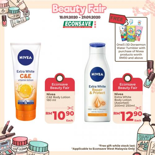 Econsave Beauty Fair Promotion (18 September 2020 - 29 September 2020)