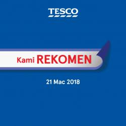 Tesco Malaysia REKOMEN Promotion published on 21 March 2018
