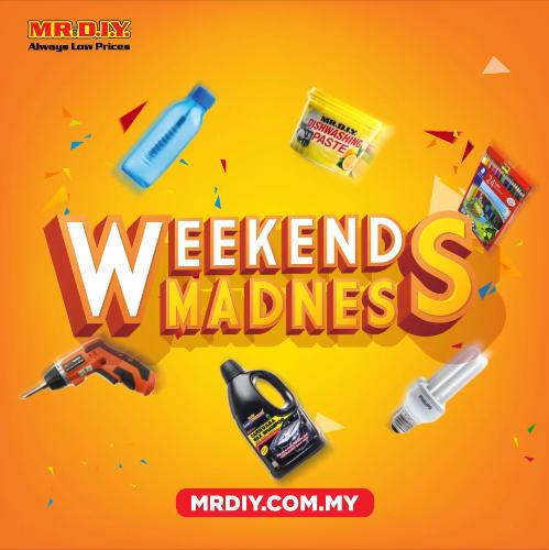 MR DIY Online Weekend Madness Promotion FREE RM10 OFF Promo Code