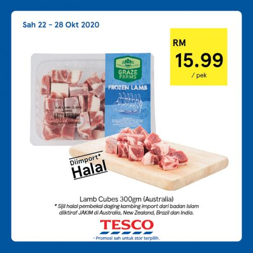 Tesco REKOMEN Promotion published on 26 October 2020