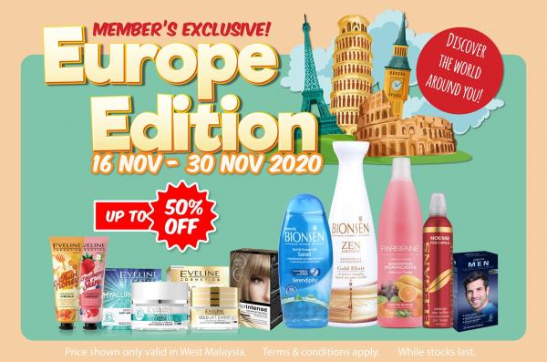 Magicboo Europe Edition Members Promotion (valid until 30 November 2020)