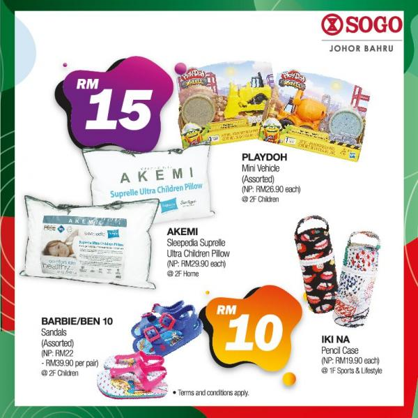 SOGO Mid Valley Southkey Flat Price Deals Promotion (20 November 2020 - 29 November 2020)