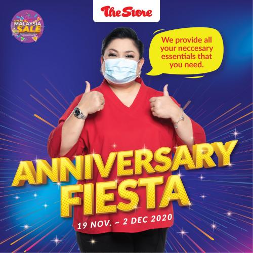 The Store Anniversary Fiesta Promotion (19 November 2020 - 2 December 2020)