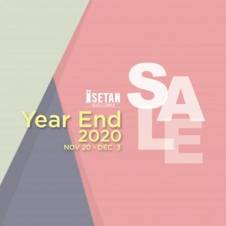 Isetan Year End Sale (20 November 2020 - 3 December 2020)