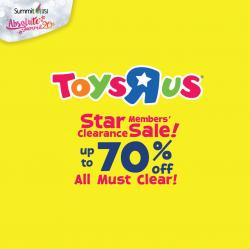 Toys R Us Star Members' Clearance Sale at Submit USJ (11 April 2018 - 15 April 2018)