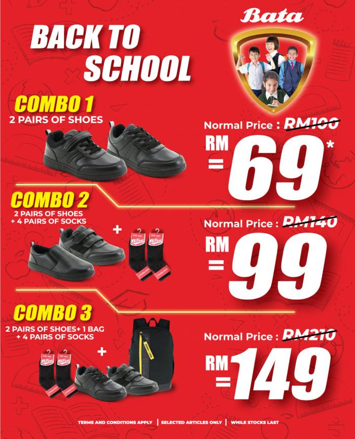 Bata Back to School Promotion Catalogue (11 December 2020 - 31 January 2021)