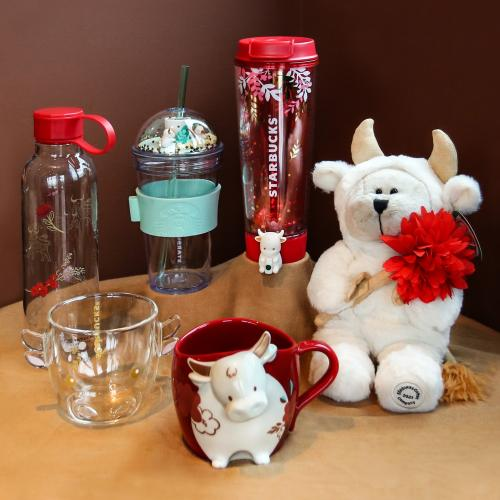 Starbucks CNY Year of the Ox Merchandise