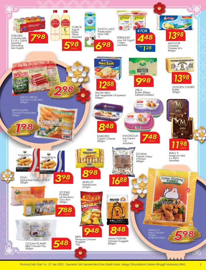 TF Value-Mart Chinese New Year Promotion Catalogue (14 January 2021 - 27 January 2021)