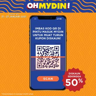MYDIN OhMydin Discount Coupon Promotion (21 January 2021 - 27 January 2021)