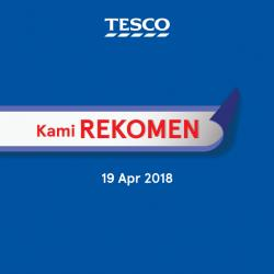 Tesco Malaysia REKOMEN Promotion published on 19 April 2018