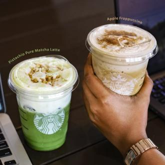 Starbucks Members Double Reward Promotion (8 February 2021 onwards)