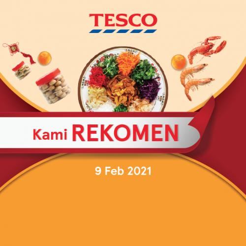 Tesco CNY REKOMEN Promotion published on 9 February 2021