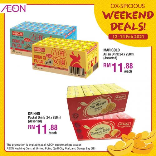 AEON CNY Weekend Promotion (12 February 2021 - 14 February 2021)