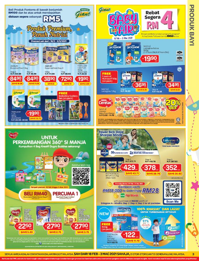 Giant Promotion Catalogue (18 February 2021 - 3 March 2021)