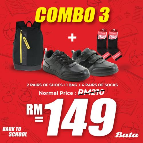 Bata Back to School Combo Promotion