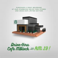 Starbucks Drive-Thru Cafe MBlock For Only RM19