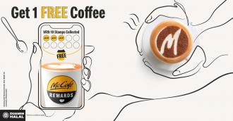 McDonald's McCafe Rewards FREE Coffee Promotion