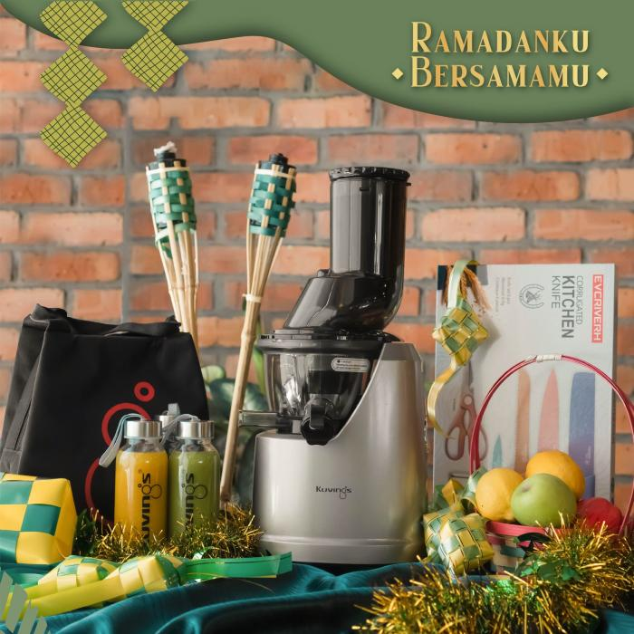 Kuvings Online Ramadan Promotion Up To 25% OFF & RM200 OFF Promo Code (3 April 2021 - 30 April 2021)
