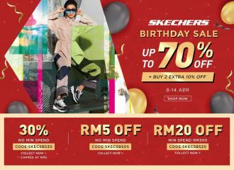 Shopee Skechers Birthday Sale Up To 70% OFF