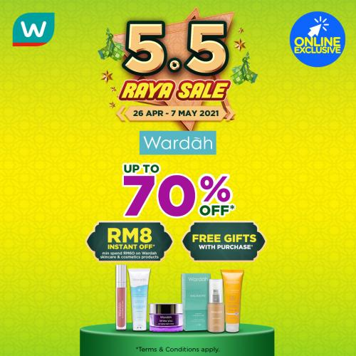Wardah 5.5 Raya Sale up to 70% OFF