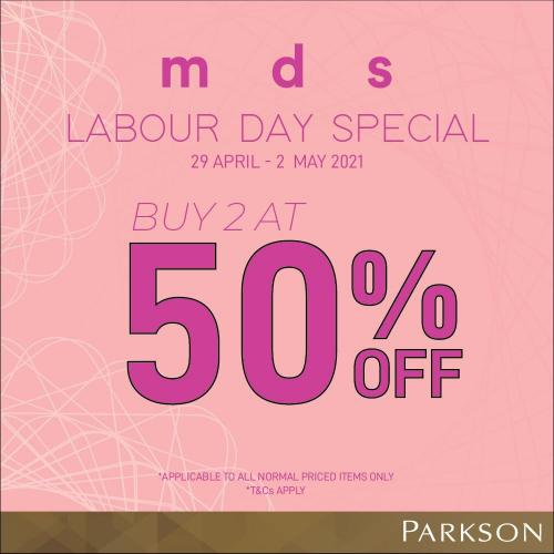 Parkson MDS Labour Day Sale (29 April 2021 - 2 May 2021)