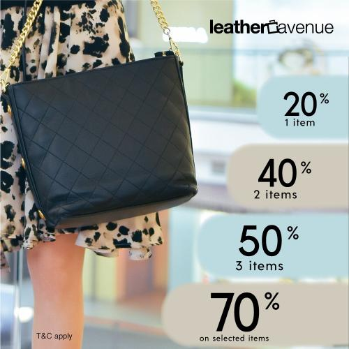 Leather Avenue Hari Raya Sale Up To 70% OFF (29 April 2021 - 2 May 2021)