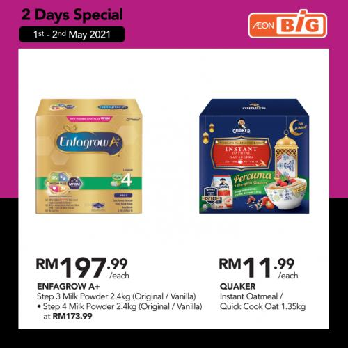 AEON BiG AEON Member e-Voucher Day Promotion (1 May 2021 - 2 May 2021)