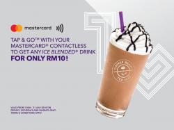 The Coffee Bean Ice Blended Drink for only RM10 (1 May 2018 - 31 July 2018)