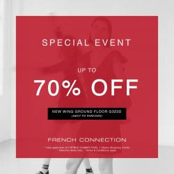 French Connection Special Event Up to 70% Off at 1 Utama Shopping Centre
