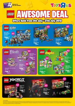 Toys R Us Promotions January 2019