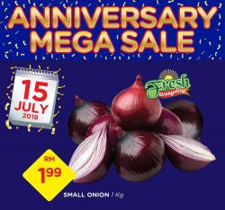 The Store and Pacific Hypermarket Anniversary Mega Sale Promotion (15 July 2018)