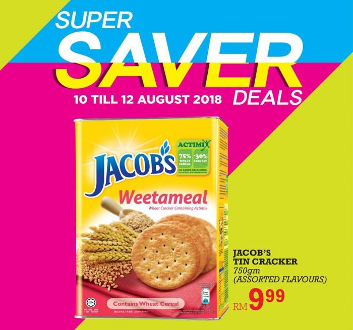 The Store and Pacific Hypermarket Super Savers Promotion (10 August 2018 - 12 August 2018)