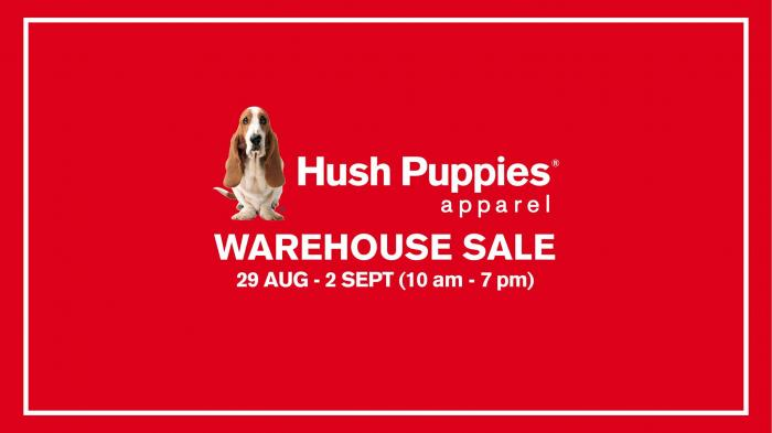 Hush Puppies Apparel Warehouse Sale at Puchong (29 August 2018 - 2  September 2018) 84007d3fa4
