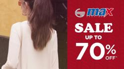Max Fashion Sale up to 70% off