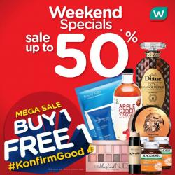 Watsons Weekend Promotion Up To 50% OFF (24 August 2018 - 27 August 2018)